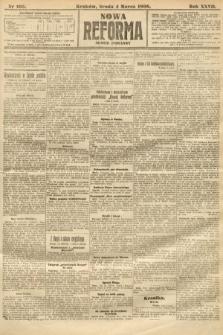 Nowa Reforma (numer poranny). 1908, nr105