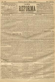 Nowa Reforma (numer popołudniowy). 1908, nr106