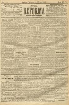 Nowa Reforma (numer popołudniowy). 1908, nr116