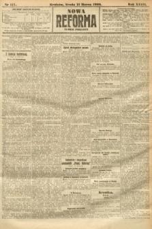 Nowa Reforma (numer poranny). 1908, nr117