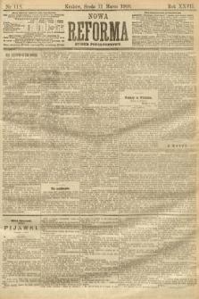 Nowa Reforma (numer popołudniowy). 1908, nr118