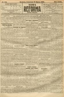 Nowa Reforma (numer poranny). 1908, nr119