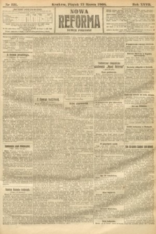 Nowa Reforma (numer poranny). 1908, nr121