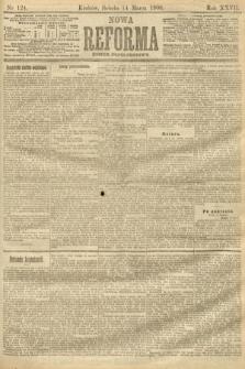 Nowa Reforma (numer popołudniowy). 1908, nr124