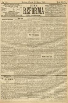 Nowa Reforma (numer popołudniowy). 1908, nr134