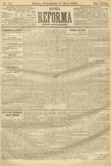 Nowa Reforma (numer popołudniowy). 1908, nr138