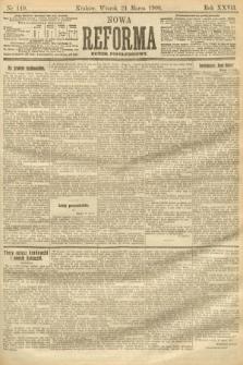 Nowa Reforma (numer popołudniowy). 1908, nr140