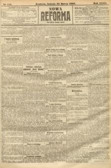 Nowa Reforma (numer poranny). 1908, nr145
