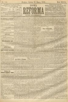 Nowa Reforma (numer popołudniowy). 1908, nr146