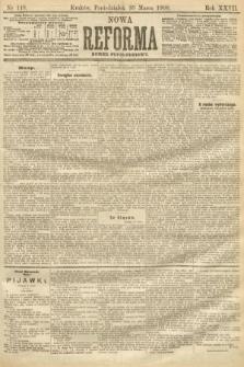 Nowa Reforma (numer popołudniowy). 1908, nr148