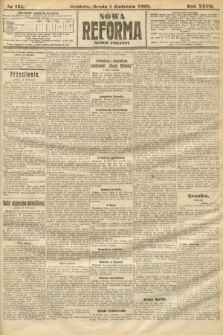 Nowa Reforma (numer poranny). 1908, nr151