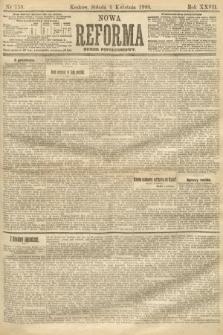Nowa Reforma (numer popołudniowy). 1908, nr158