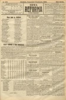 Nowa Reforma (numer poranny). 1908, nr165