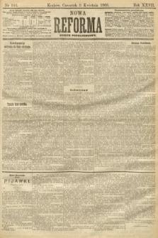 Nowa Reforma (numer popołudniowy). 1908, nr166
