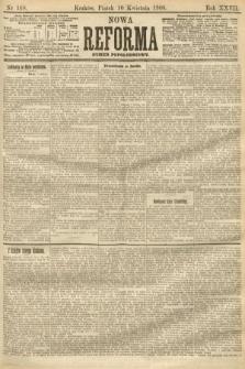 Nowa Reforma (numer popołudniowy). 1908, nr168