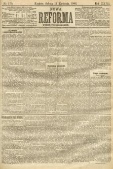 Nowa Reforma (numer popołudniowy). 1908, nr170