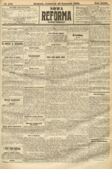 Nowa Reforma (numer poranny). 1908, nr178