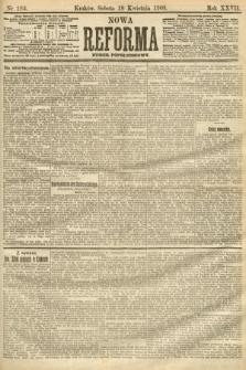 Nowa Reforma (numer popołudniowy). 1908, nr183