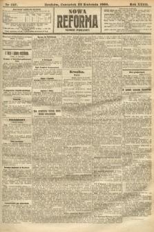 Nowa Reforma (numer poranny). 1908, nr187