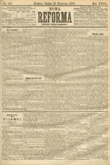 Nowa Reforma (numer popołudniowy). 1908, nr190