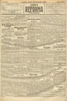 Nowa Reforma (numer poranny). 1908, nr197