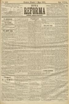 Nowa Reforma (numer popołudniowy). 1908, nr202