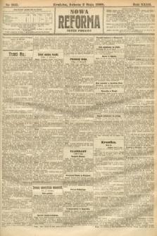 Nowa Reforma (numer poranny). 1908, nr203