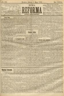 Nowa Reforma (numer popołudniowy). 1908, nr204