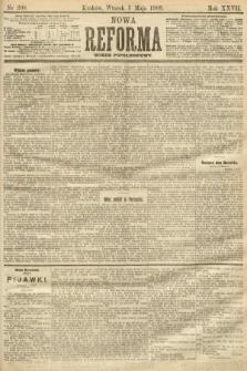 Nowa Reforma (numer popołudniowy). 1908, nr208