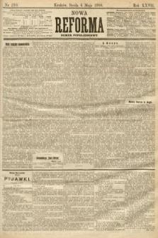 Nowa Reforma (numer popołudniowy). 1908, nr210
