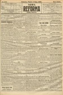 Nowa Reforma (numer poranny). 1908, nr213