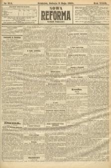 Nowa Reforma (numer poranny). 1908, nr214