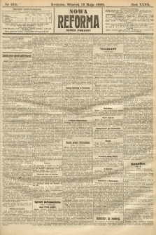Nowa Reforma (numer poranny). 1908, nr218