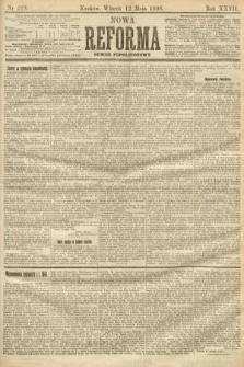 Nowa Reforma (numer popołudniowy). 1908, nr219