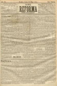 Nowa Reforma (numer popołudniowy). 1908, nr221