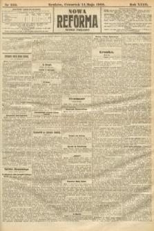 Nowa Reforma (numer poranny). 1908, nr222