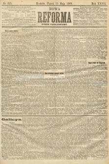 Nowa Reforma (numer popołudniowy). 1908, nr225