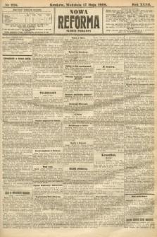 Nowa Reforma (numer poranny). 1908, nr228