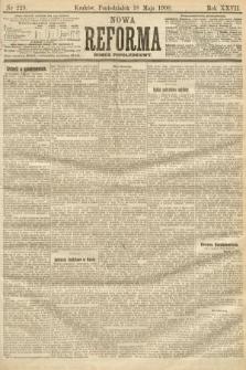 Nowa Reforma (numer popołudniowy). 1908, nr229
