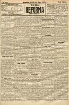 Nowa Reforma (numer poranny). 1908, nr232