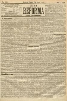 Nowa Reforma (numer popołudniowy). 1908, nr233