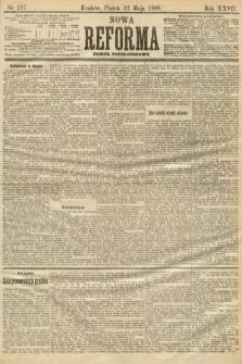 Nowa Reforma (numer popołudniowy). 1908, nr237