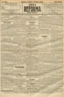 Nowa Reforma (numer poranny). 1908, nr238