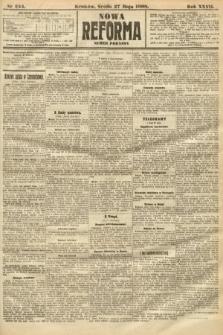 Nowa Reforma (numer poranny). 1908, nr244