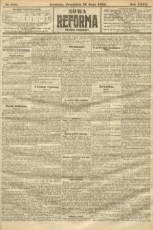 Nowa Reforma (numer poranny). 1908, nr246