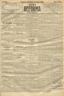 Nowa Reforma (numer poranny). 1908, nr250