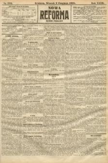 Nowa Reforma (numer poranny). 1908, nr252