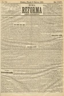 Nowa Reforma (numer popołudniowy). 1908, nr253