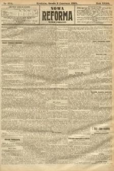 Nowa Reforma (numer poranny). 1908, nr254