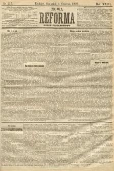 Nowa Reforma (numer popołudniowy). 1908, nr257